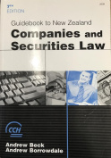 Guidebook to New Zealand Companies and Securities Law