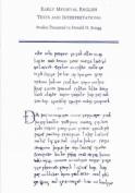 Early Medieval English Texts and Interpretations