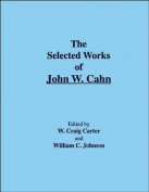 The Selected Works of John W. Cahn