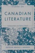 Studies on Canadian Literature