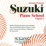Suzuki Piano School, Vol 3  [Audio]