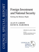 Foreign Investment and National Security