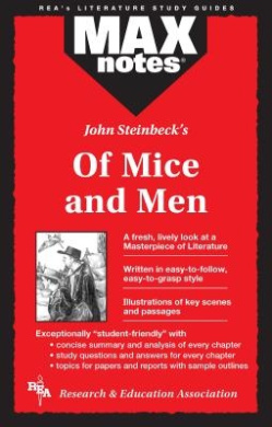 """John Steinbeck's """"Of Mice and Men"""" (MaxNotes)"""
