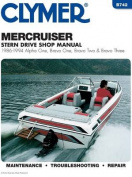 Mercruiser Alpha One, Bravo One, Bravo Two & Bravo Three Stern Drives, 1986-1994