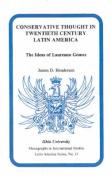 Conservative Thought in Twentieth Century Latin America