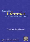 Effective Libraries in International Schools