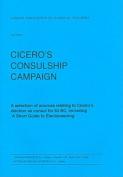 Cicero's Consulship Campaign