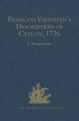 Francois Valentijn's Description of Ceylon