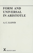 Form and Universal in Aristotle (ARCA