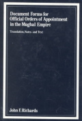 Document Forms for Official Orders of Appointment in the Mughal Empire