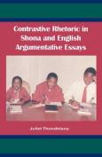 Contrastive Rhetoric in Shona and English Argumentative Essays