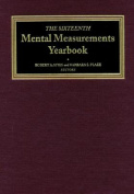 The Sixteenth Mental Measurements Yearbook