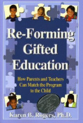 RE-Forming Gifted Education