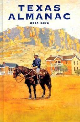 Texas Almanac 2004-2005 62 Edition