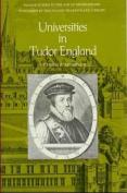 Universities in Tudor England