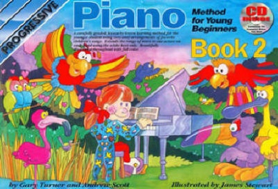 Progressive Piano for Young Beginners: Book 2 / CD Pack