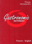 Gastronomic Dictionary French-English
