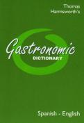Gastronomic Dictionary Spanish-English