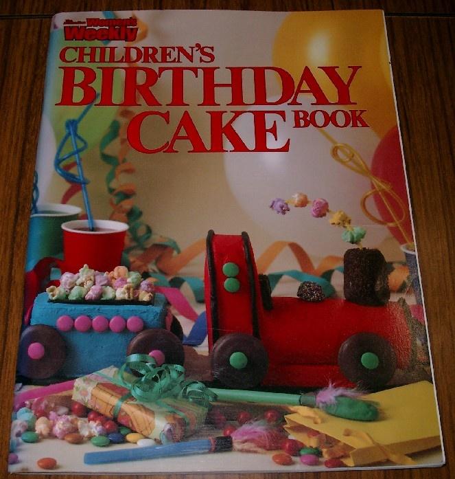 Childrens Birthday Cake Book Australian Womens Weekly Home