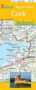 Xploreit Map of County Cork, Ireland