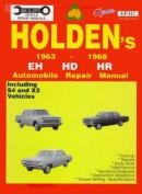 Holden: 1963-1968 Eh Hd Hr