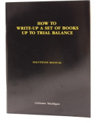 How to Write-up a Set of Books up to Trial Balance