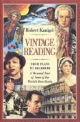 Vintage Reading - from Plato to Bradbury