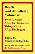 Death And Anti-Death, Volume 4