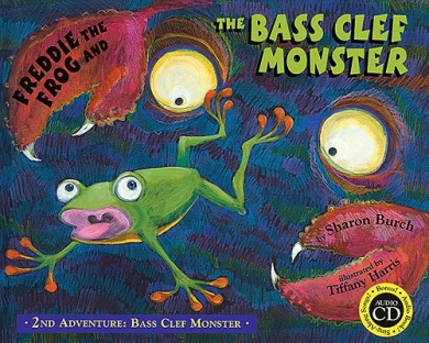 Freddie the Frog and the Bass Clef Monster (Bass Clef Monster)