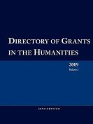 Directory of Grants in the Humanities 2009 Volume 1