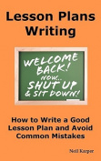 Lesson Plans Writing