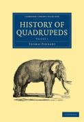 History of Quadrupeds 2 Volume Paperback Set