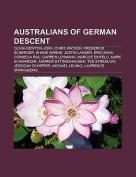 Australians of German Descent