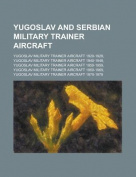 Yugoslav and Serbian Military Trainer Aircraft