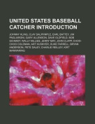 United States Baseball Catcher Introduction