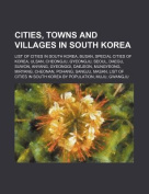 Cities, Towns and Villages in South Korea