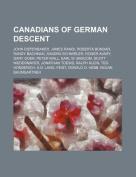 Canadians of German Descent