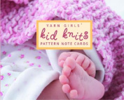 The Yarn Girls' Kid Knits Pattern Note Cards