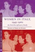 Women in Italy, 1945-1960