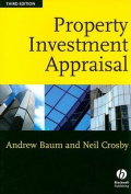Property Investment Appraisal 3E
