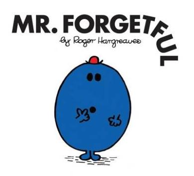 Mr. Forgetful (Mr. Men Classic Library)