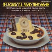 I'm Sorry I'll Read That Again [Audio]