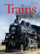 Trains (Usborne Beginners)