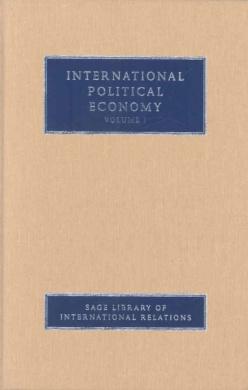 International Political Economy (Sage Library of International Relations)
