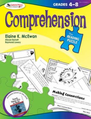 Corwin Press COR9781412958295 Comprehension The Reading Puzzle Gr 4-8