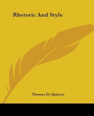 Rhetoric And Style