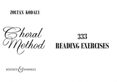 Choral Method: 333 Reading Exercises