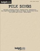 Folk Songs: Budget Books
