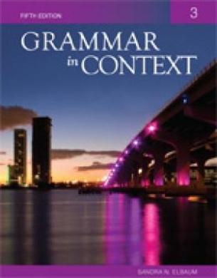 Grammar In Context: 3