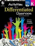 Activities for a Differentiated Classroom Level K